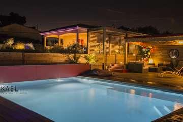 Réalisation d'une piscine et d'un pool house à Saint Léon