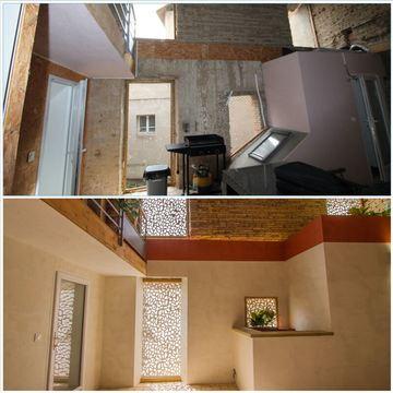 Projet de réaménagement d'un patio à Villemur