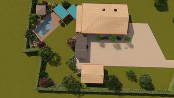 Création d'un jardin avec piscine à Montauban