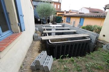 Création de jardin urbain à Toulouse