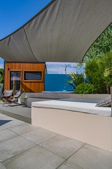 Création d'un studio avec spa dans un jardin à Blagnac