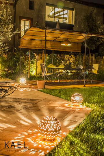 Aménagement d'un espace terrasse à l'abri des vis à vis au plein cœur de Blagnac