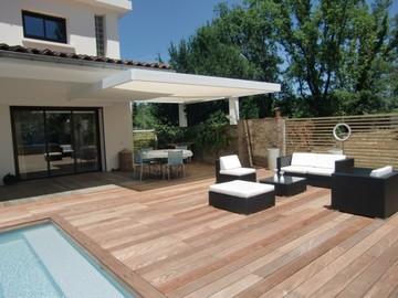 Rénovation d'espace piscine et terrasse près de Blagnac