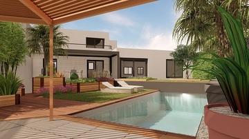 Rénovation et aménagement de piscine et jardin au centre de Toulouse